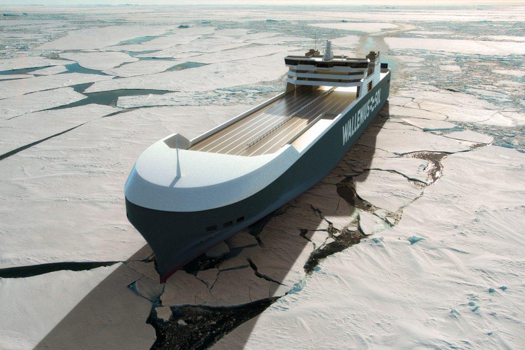 Wallenius SOL LNG-powered vessel