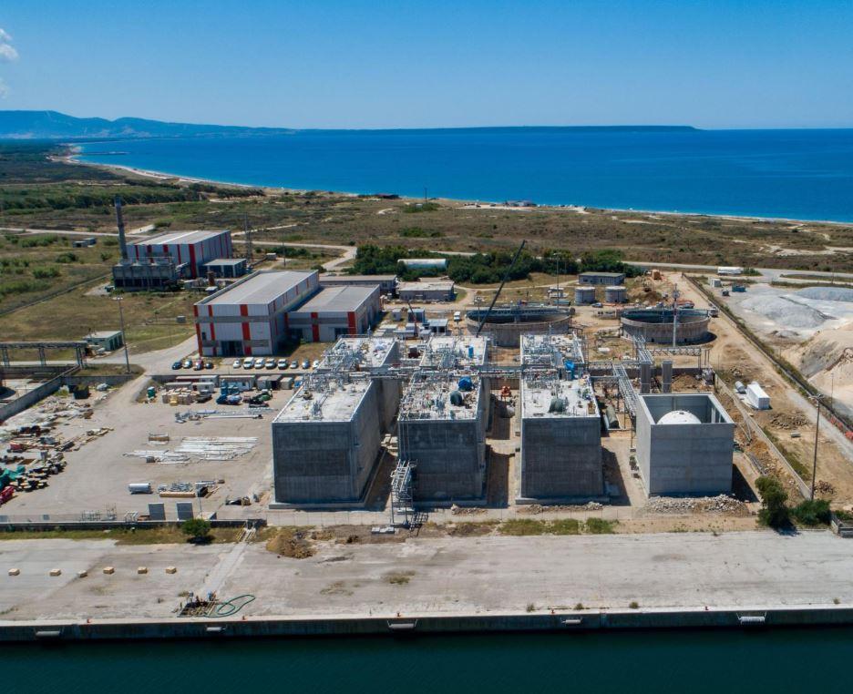 Higas LNG terminal