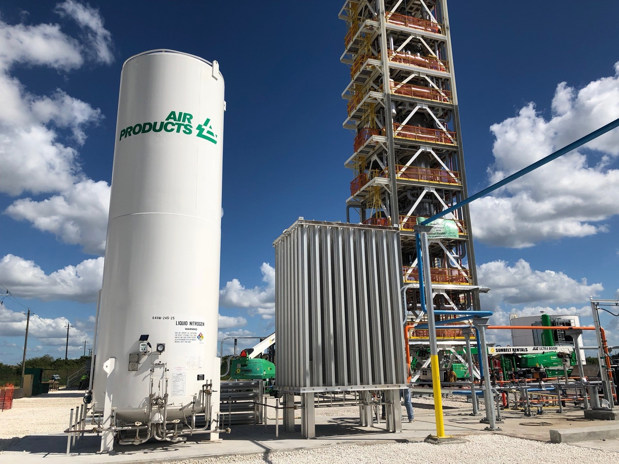 Air Products to supply heat exchangers to Sonatrach's Arzew LNG plant