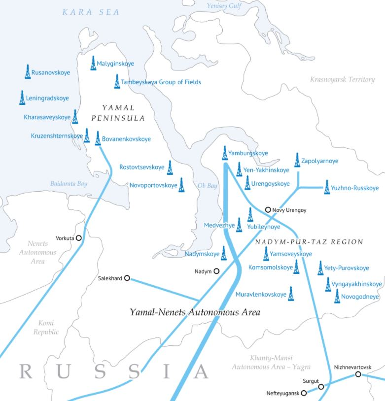 Gazprom makes another gas find off Russia's Yamal