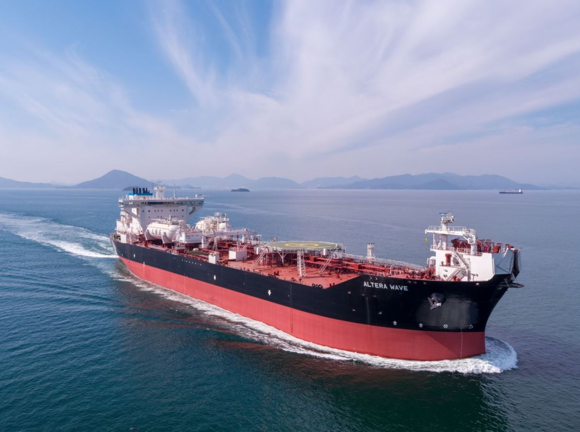 Altera adds another LNG-powered shuttle tanker to its fleet