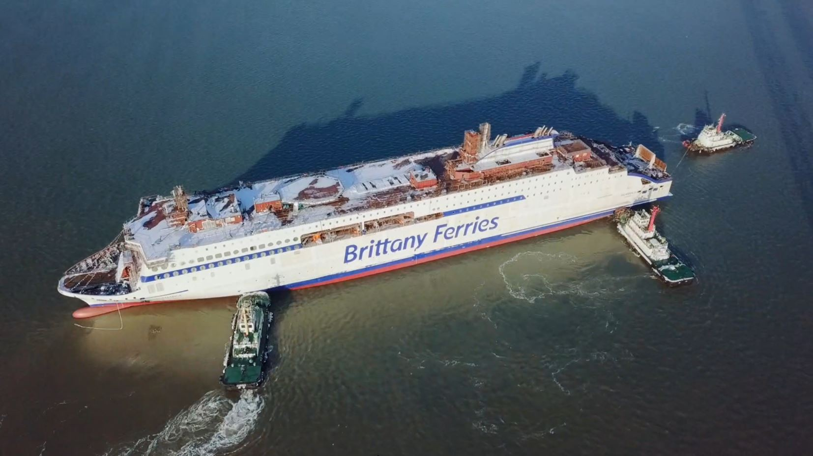 Brittany Ferries launches LNG-powered newbuild
