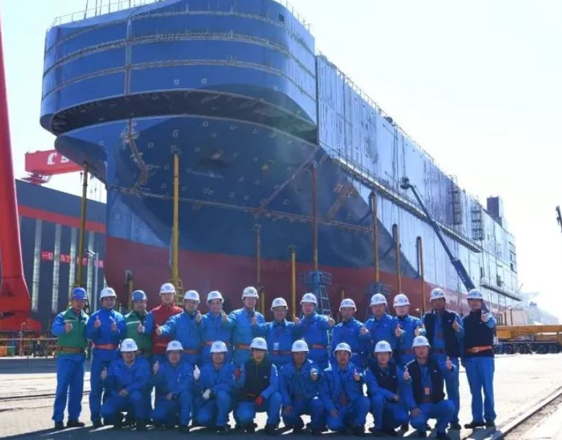 Jiangan plans to launch UECC's LNG PCTC in April