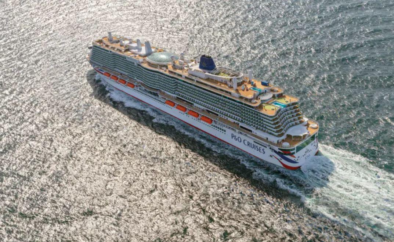 P&O Cruises names second LNG-powered newbuild