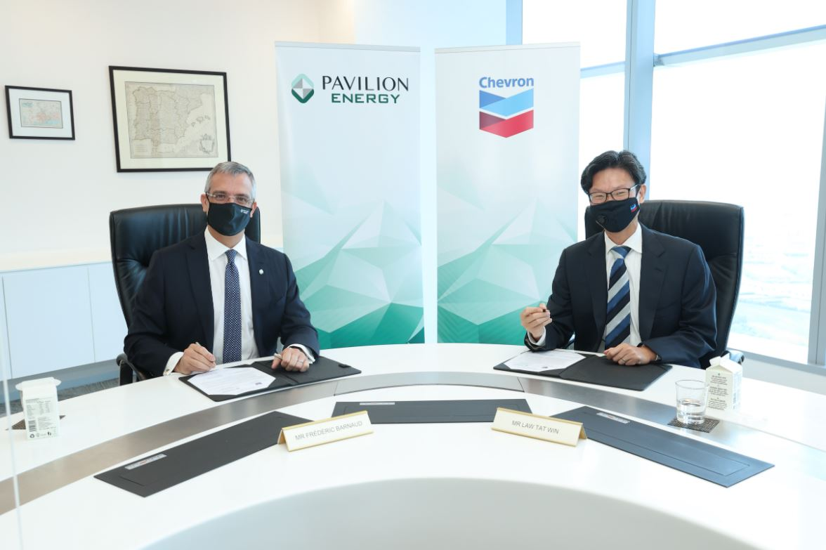 Singapore's Pavilion inks 6-year LNG supply deal with Chevron