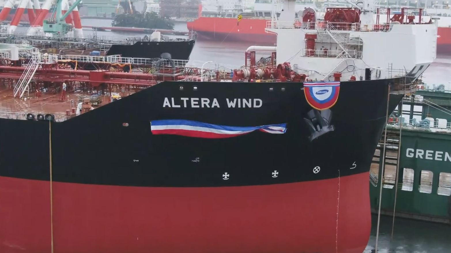 Sixth LNG-powered shuttle tanker to join Altera's fleet