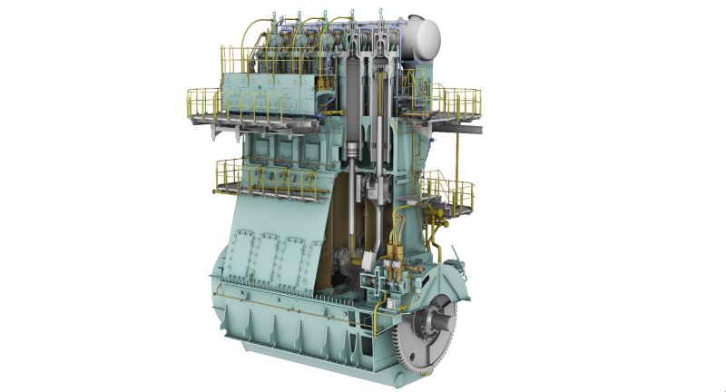 WinGD adds four new versions to its best-selling LNG engine