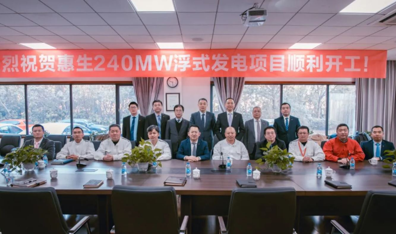 Wison says building China's first floating LNG power project
