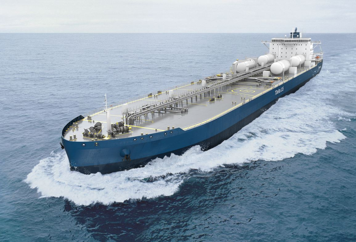 Four firms have joined forces on a study assessing various fuels for tankers, including LNG.