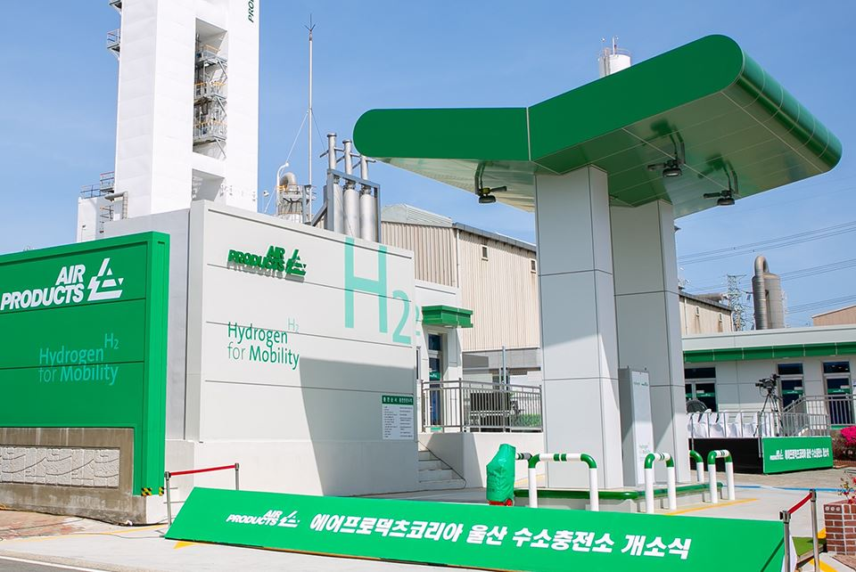 Air Products launches hydrogen fueling station in South Korea