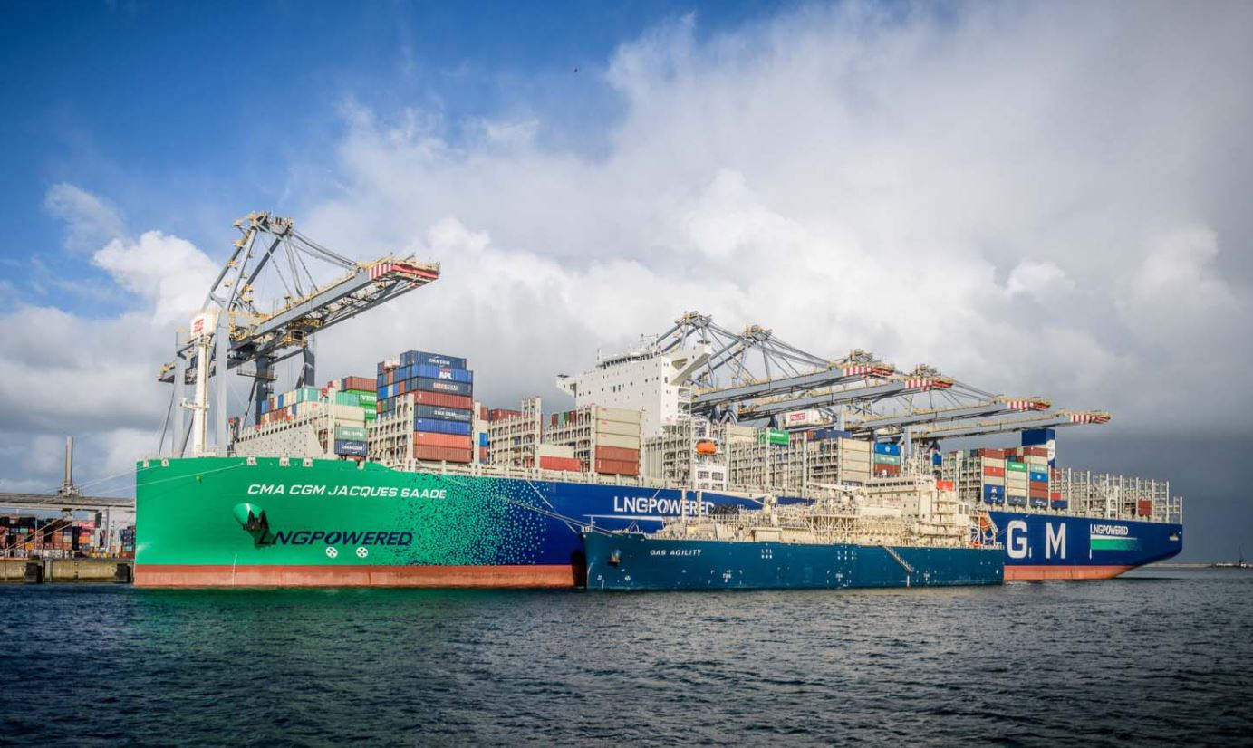 CMA CGM confirms order for new six LNG-powered containerships