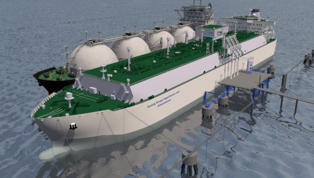 MOL changes FSRU order to LNG carrier after Uniper hydrogen move