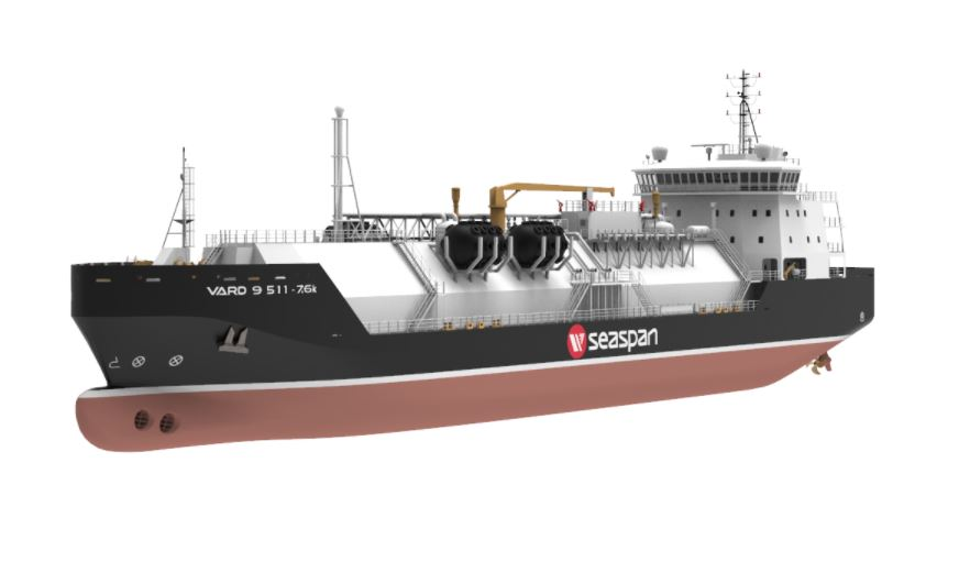Seaspan gets BV approval for new LNG bunkering ship