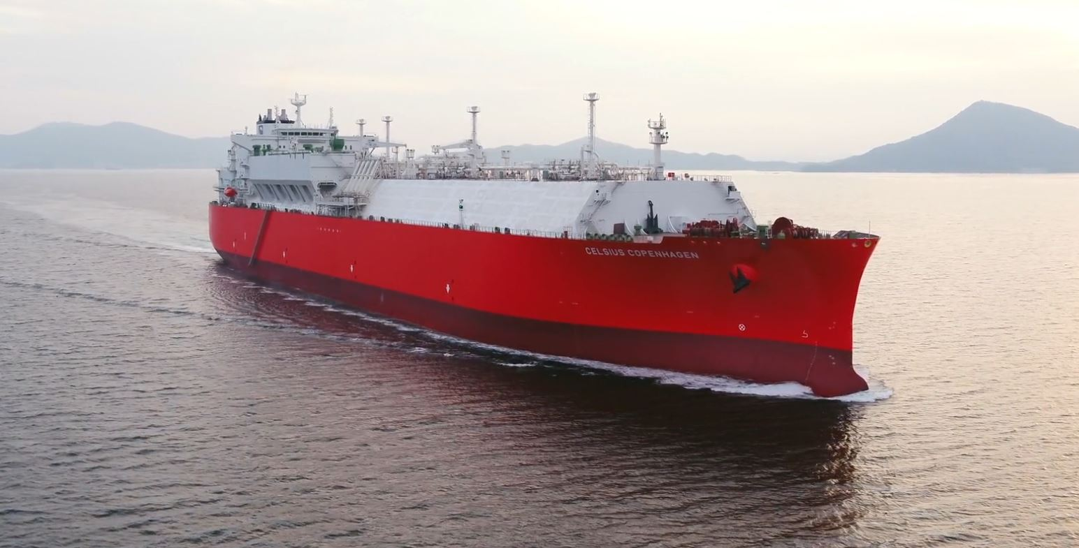 Denmark's Celsius to take delivery of another Cheniere-chartered LNG carrier