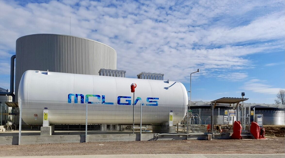 Molgas delivers its first UK industrial LNG facility