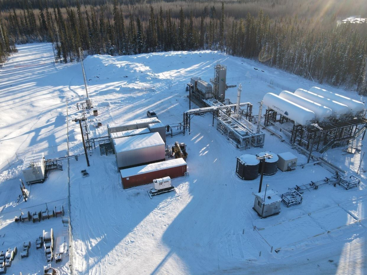 Canada's Cryopeak launches small LNG production plant in Fort Nelson