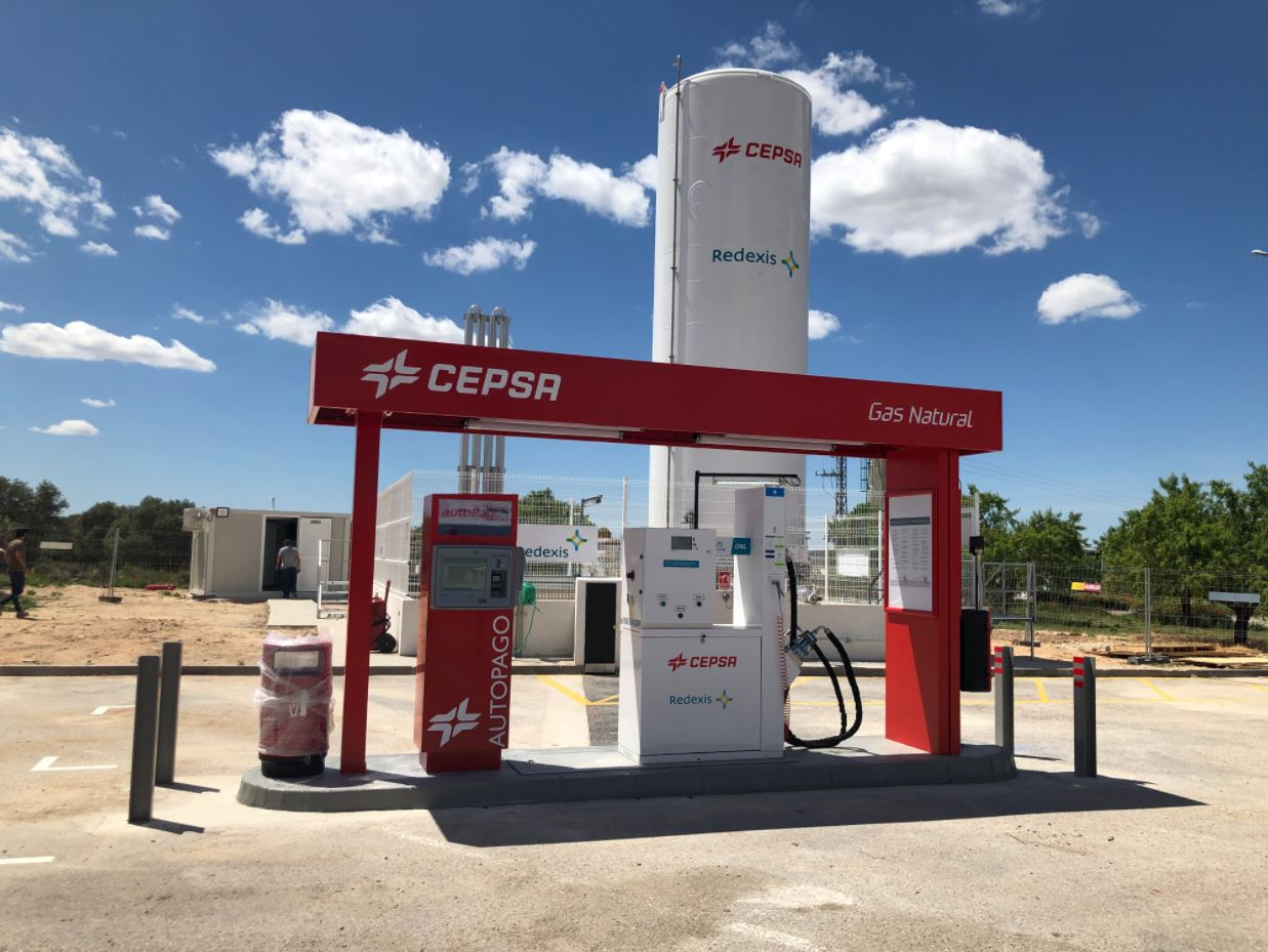 Cepsa, Redexis launch new Spanish LNG filling station