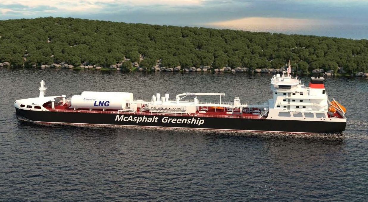 DNV global LNG-powered fleet continues to rise
