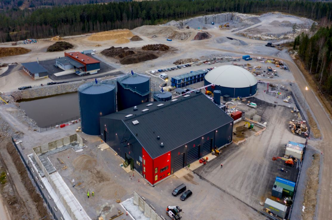 Gasum launches new biogas plant in Finland
