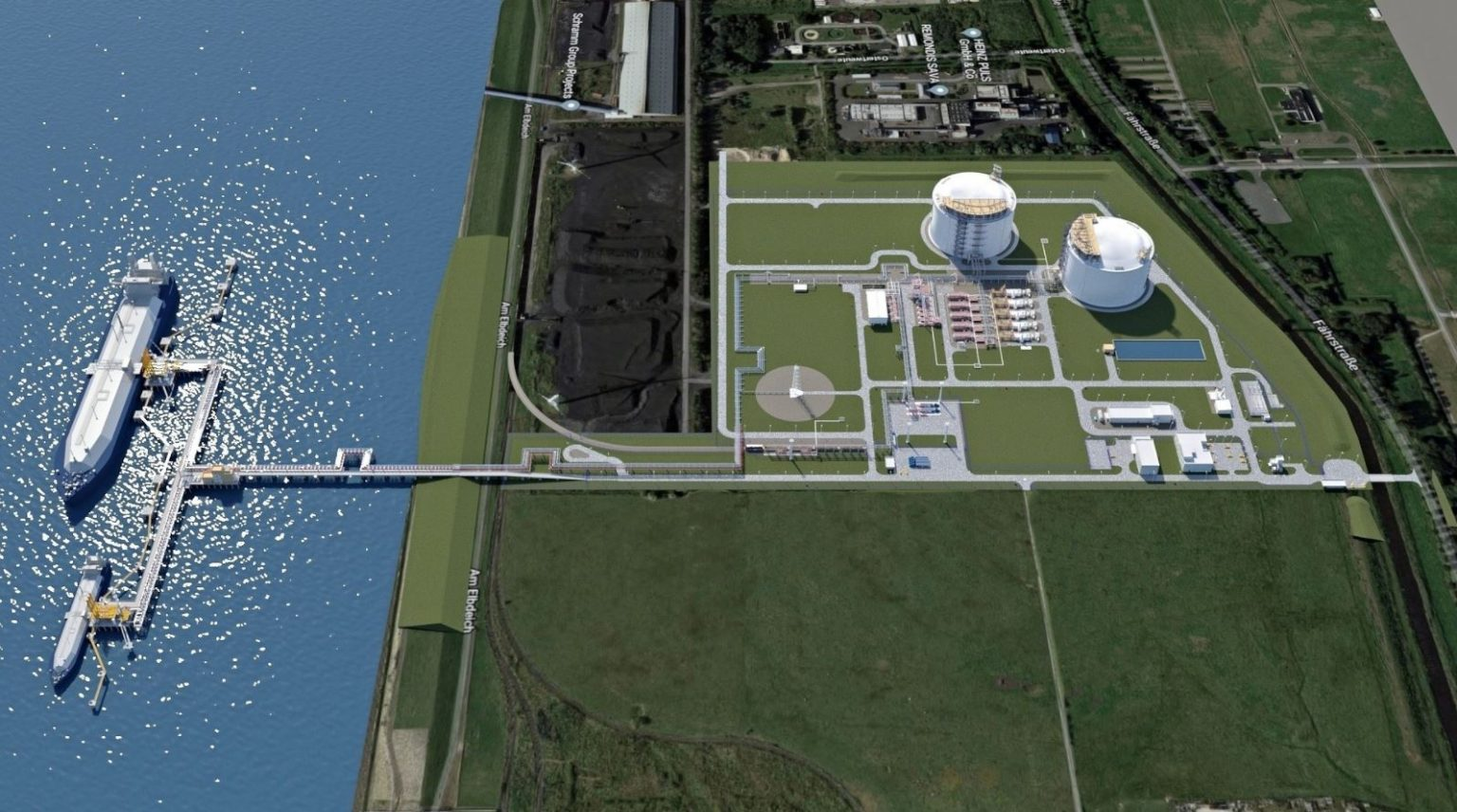 German LNG import terminal to file for construction permit