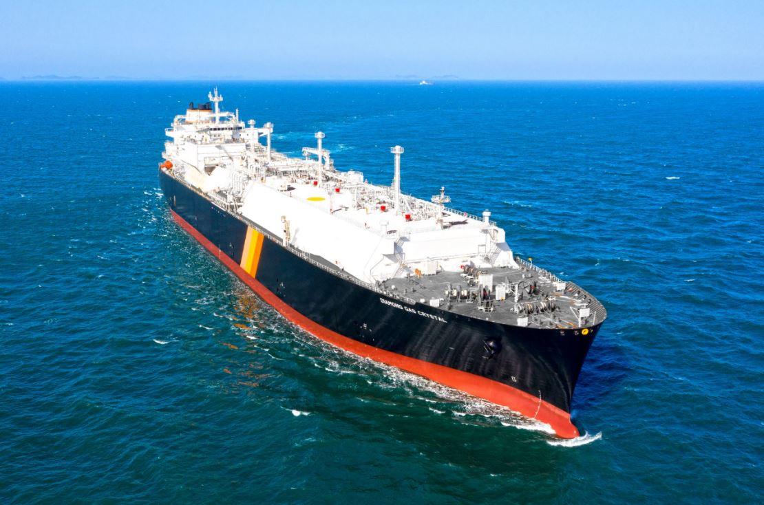 Hyundai Samho delivers LNG Canada tanker