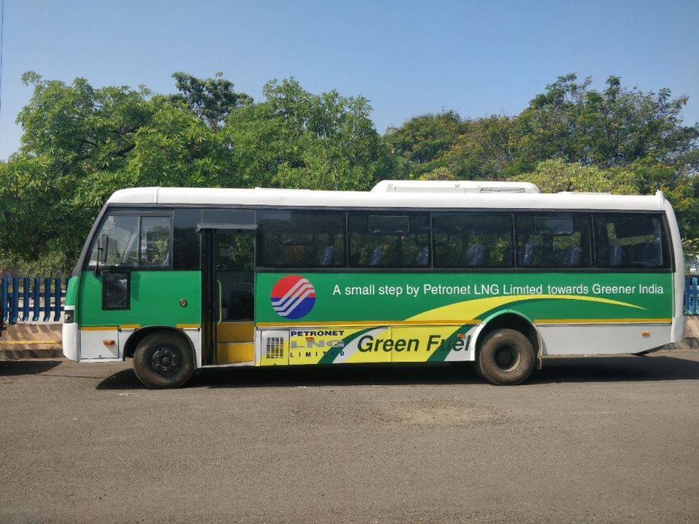 India's Petronet, KSRTC testing LNG-powered buses