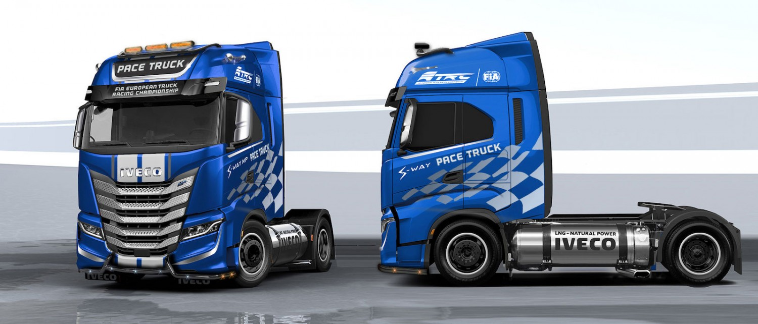 Iveco to provide bio-LNG truck for European truck racing events