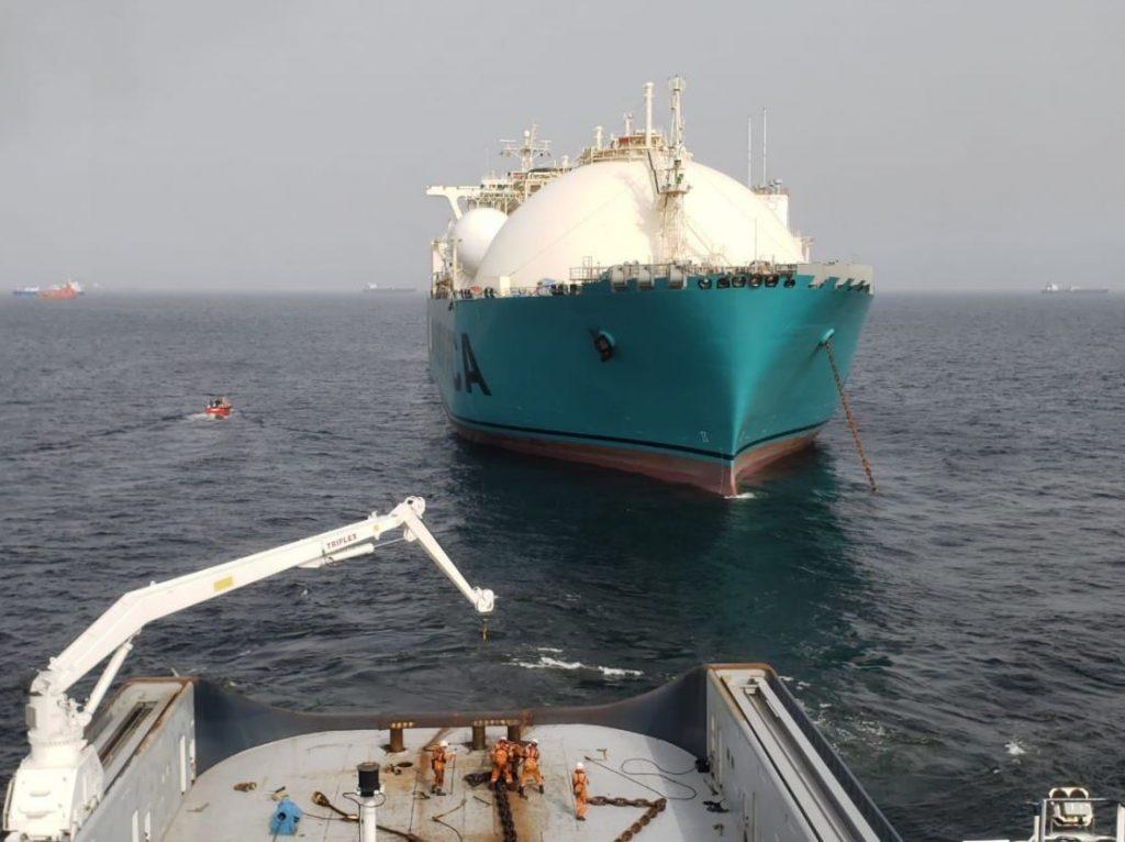 KARMOL's FSRU arrives in Senegal