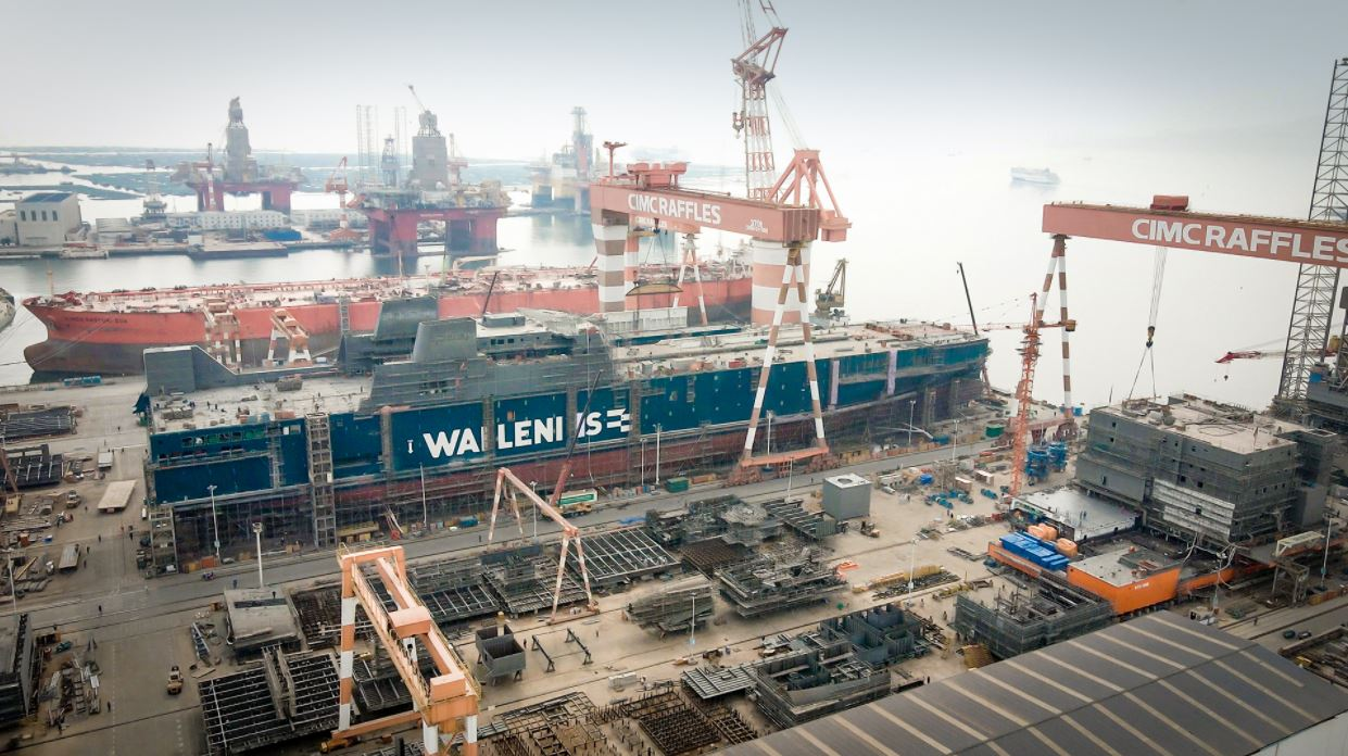 Wallenius SOL LNG-powered duo nearing launch in China