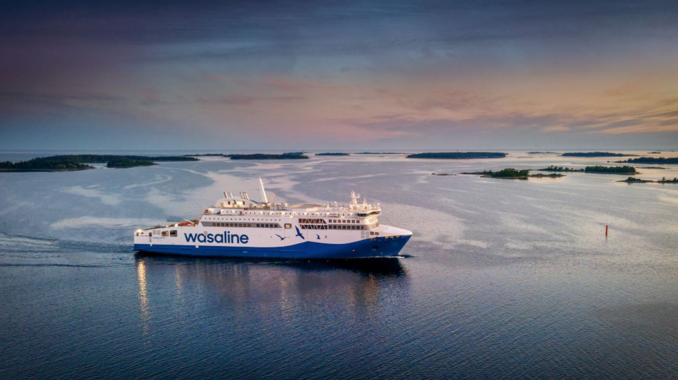 Wasaline's LNG ferry completes sea trials
