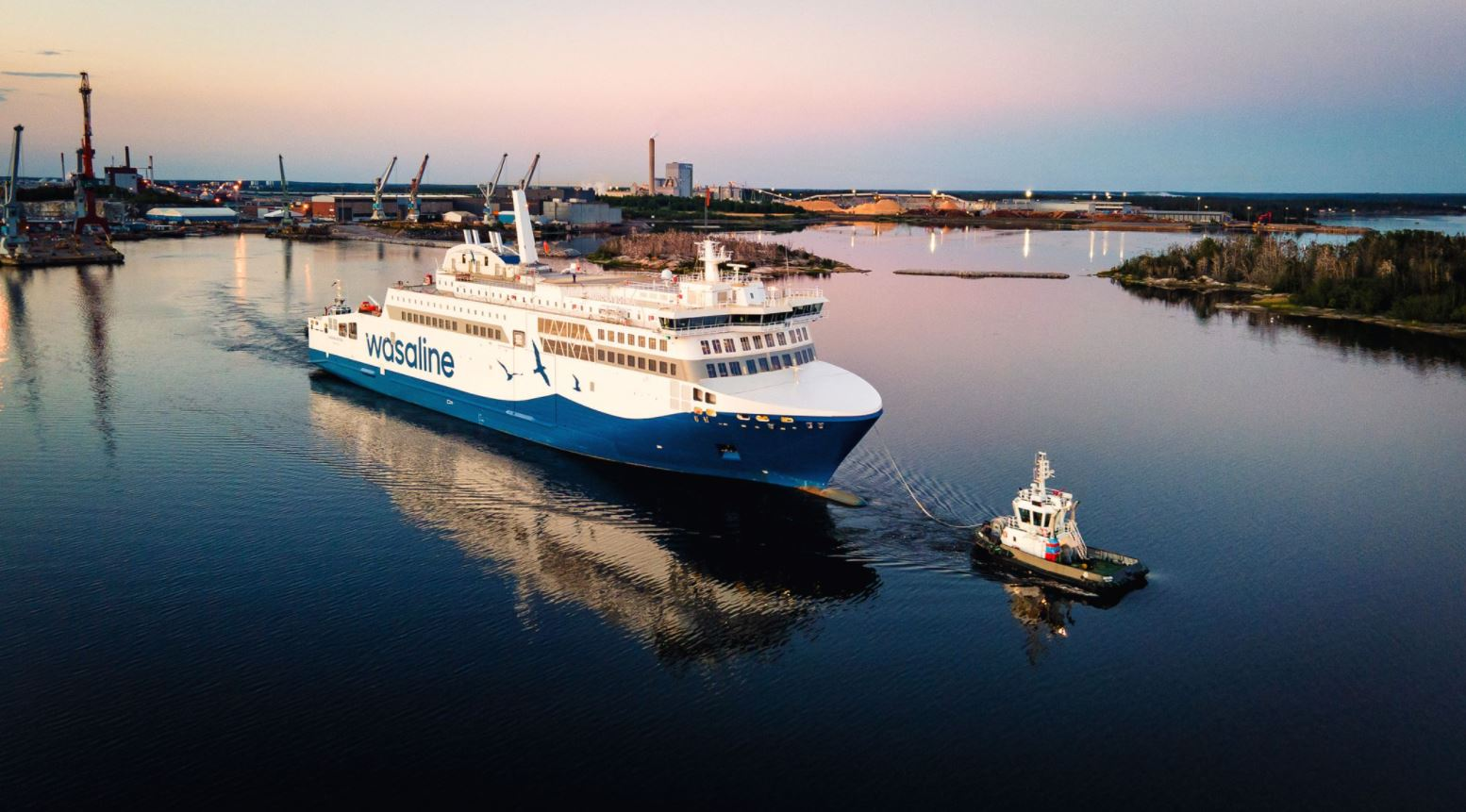 Wasaline's LNG-powered ferry almost complete