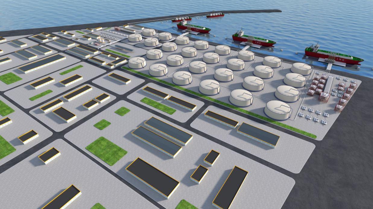 Cheniere, Vopak in cooperation talks with China's Yantai LNG import project