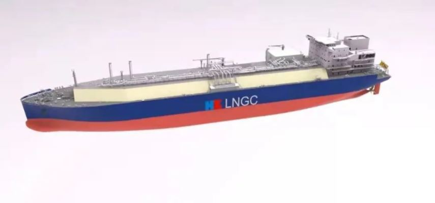 China's Hudong nets order for another LNG carrier