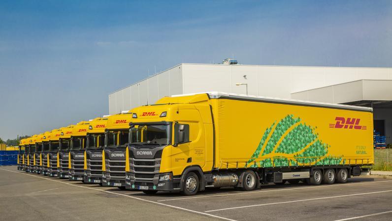 DHL expands LNG-powered truck fleet
