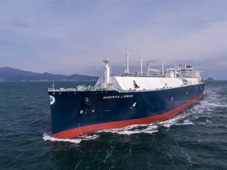 DSME delivers second Minerva LNG newbuild