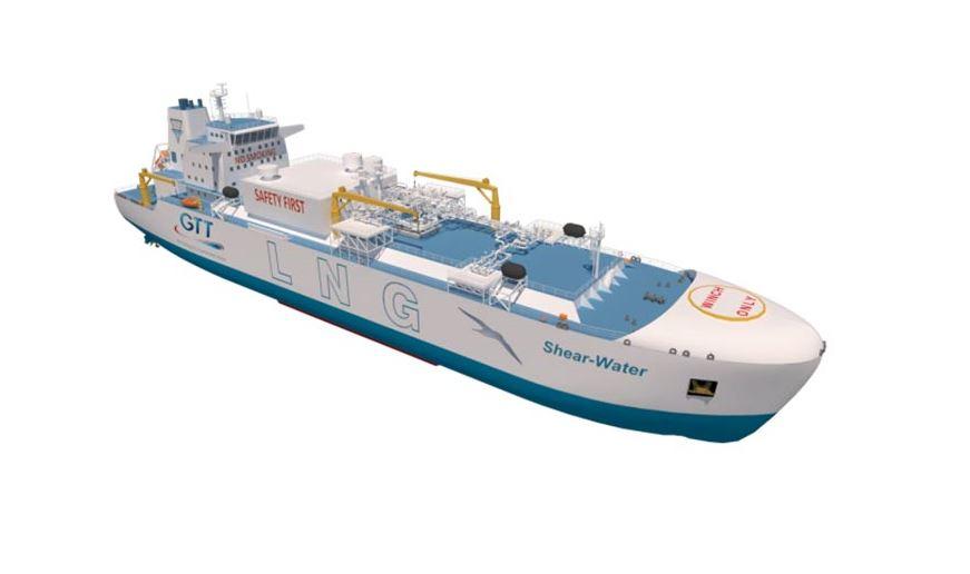 GTT, Hudong get approval for LNG bunkering vessel design