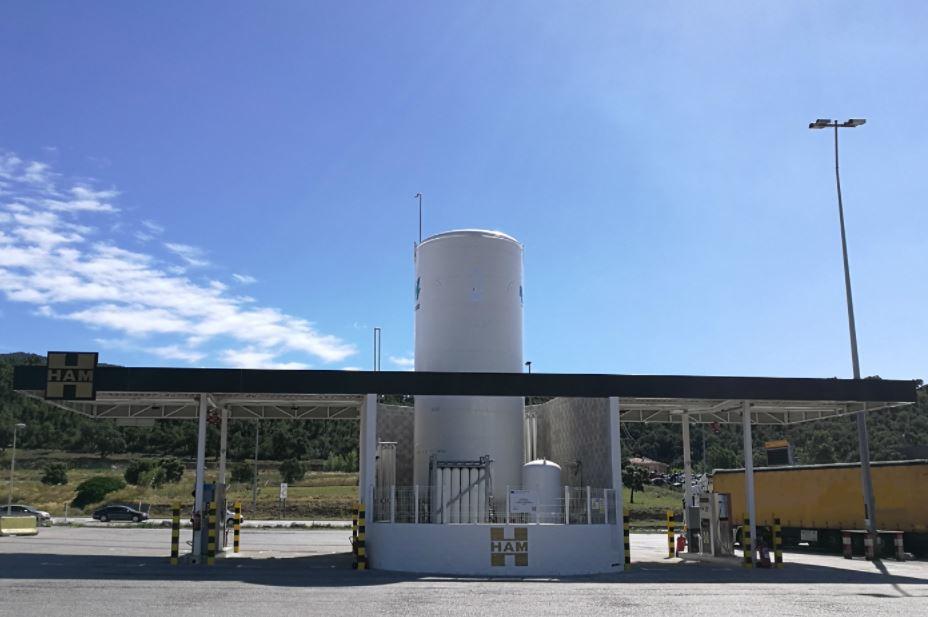 HAM delivers 100th LNG filling station