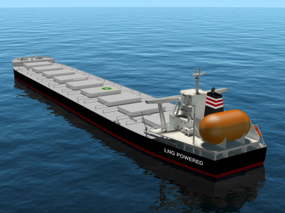 Japan's JFE Steel inks charter deals for new LNG-powered bulkers