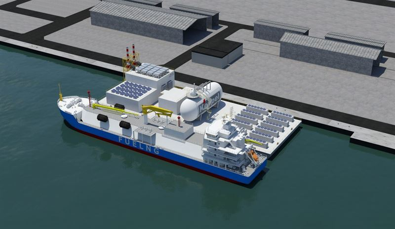 Keppel's floating lab to get Wartsila engines running on hydrogen blends