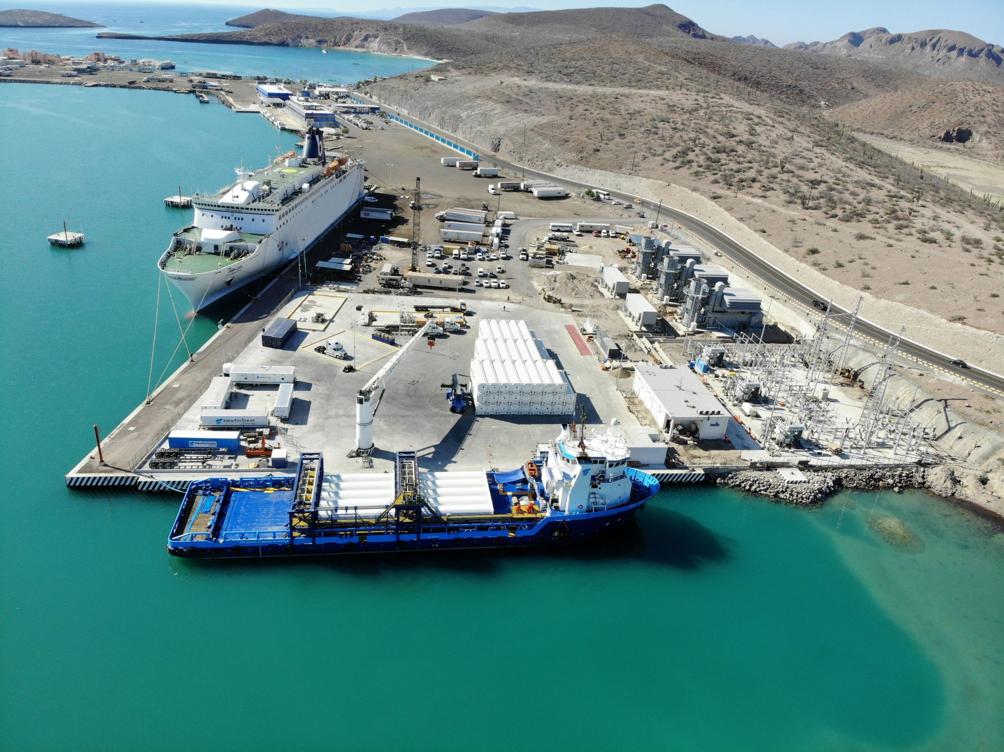 New Fortress launches Mexico LNG terminal