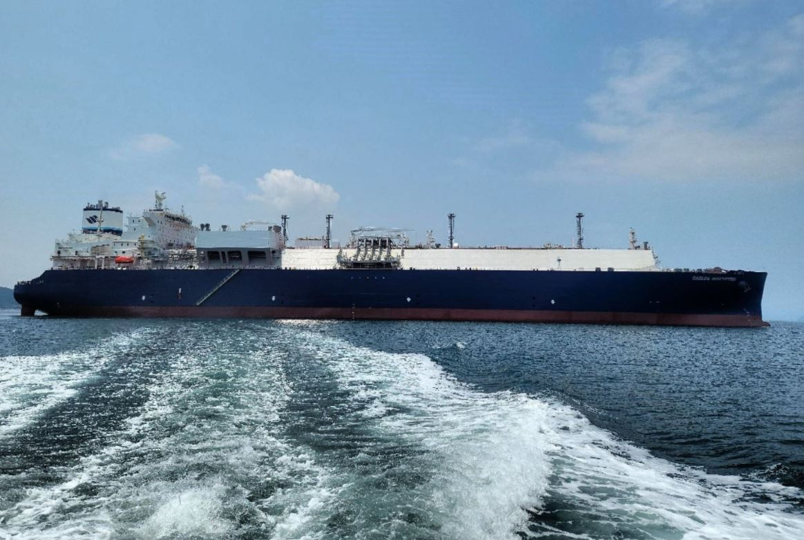 SHI to deliver new LNG carrier to GasLog