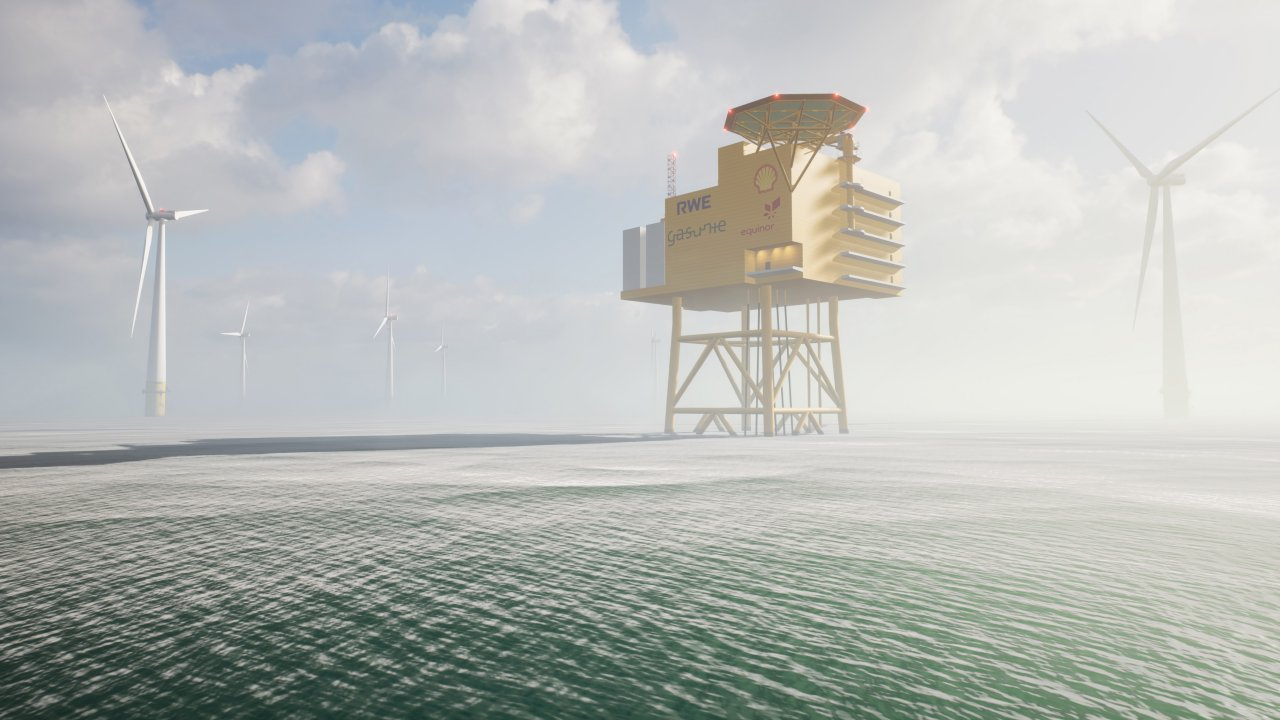 Shell, partners to work on German offshore hydrogen project