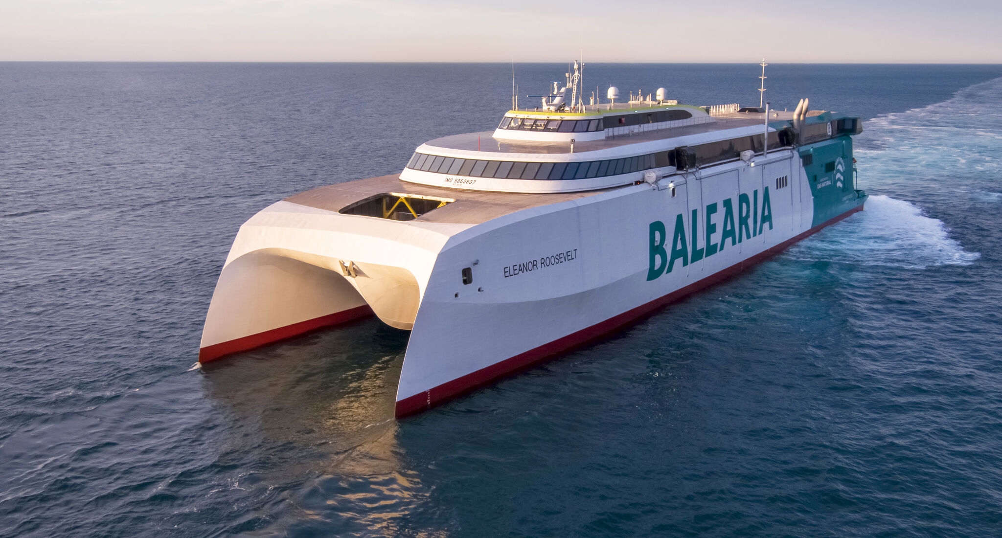 Spain's Balearia sets sights on new LNG-powered ferry