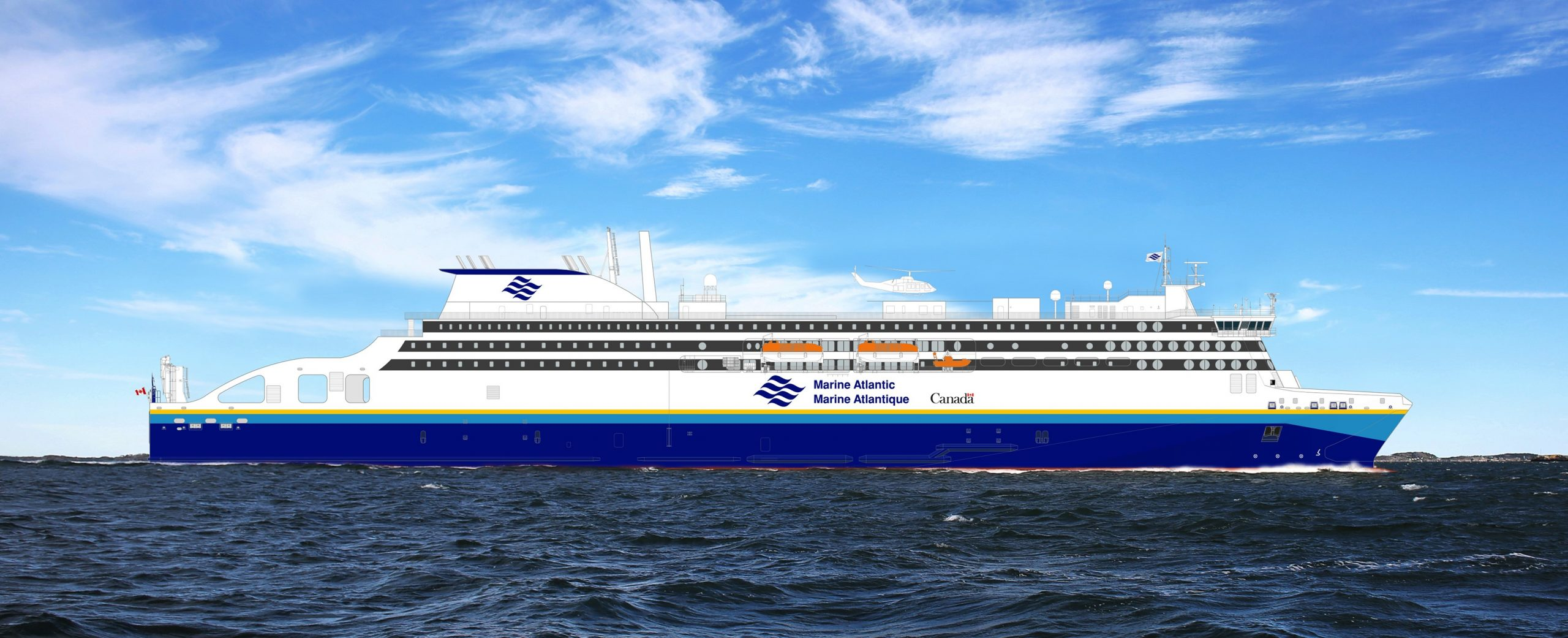 Stena RoRo inks charter deal for one LNG -powered ferry with Marine Atlantic