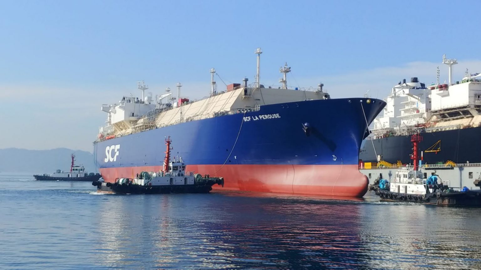 TotalEnergies charters two additional LNG carriers from Sovcomflot