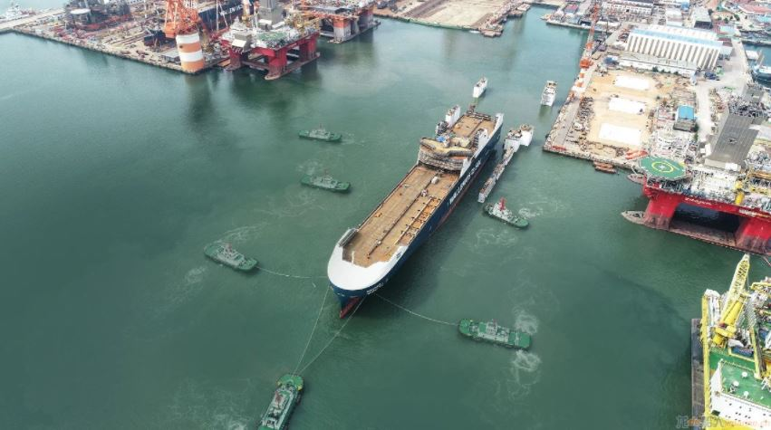 Wallenius SOL's first LNG-powered vessel launched in China