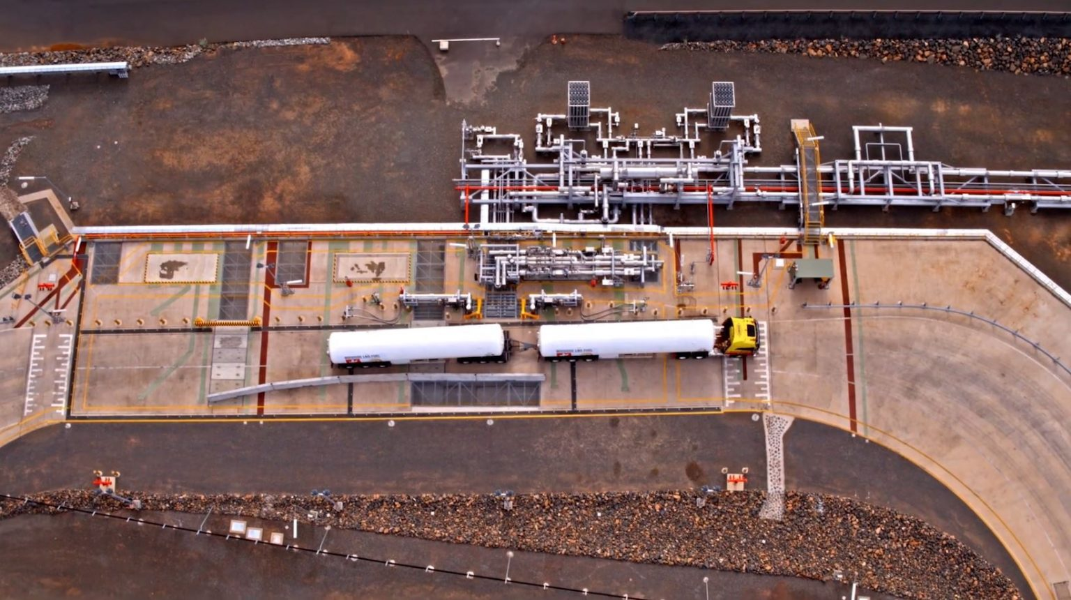 Woodside, EDL ink two more Pluto LNG trucking deals