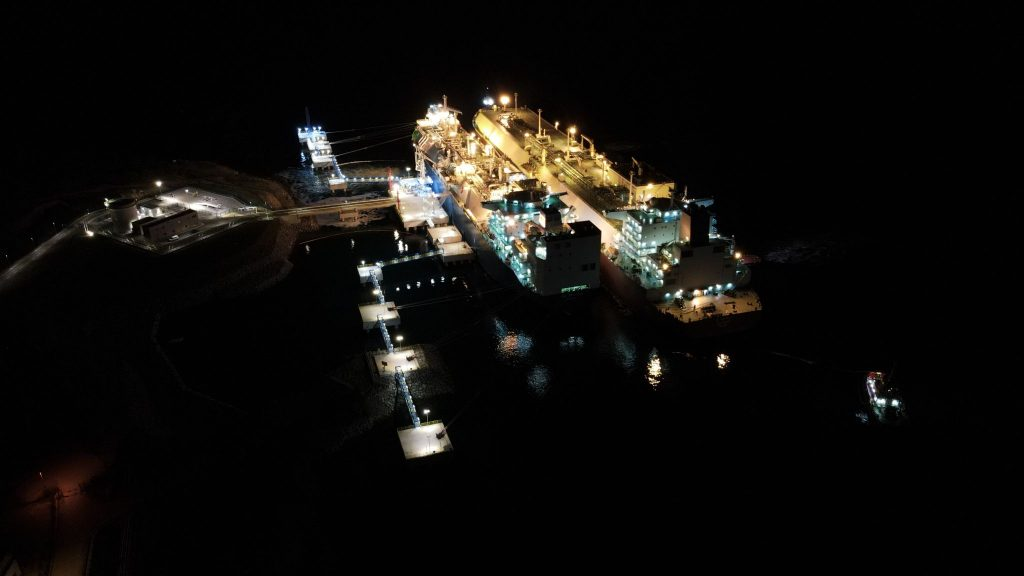 Croatian FSRU welcomes second Q-Max LNG carrier