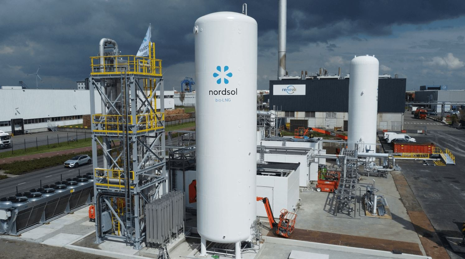 First Dutch bio-LNG plant nearing completion