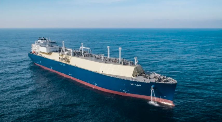 Hudong delivers LNG tanker to CSSC Shipping